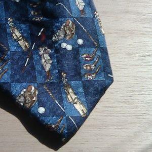 Zianetti Italian Silk Golfing Necktie